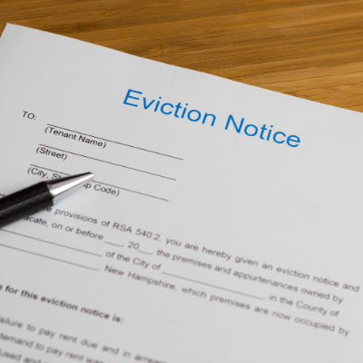 Evictions for Housing Providers